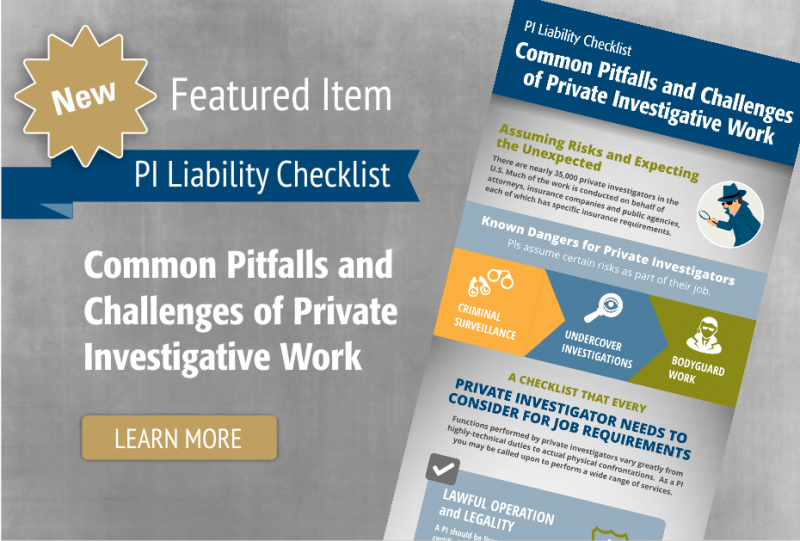 PI Liability Checklist: Common Challenges of PI Work