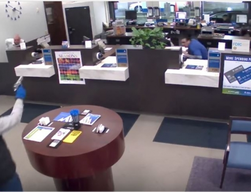 Security Guard in Fatal Bank Robbery Shooting [VIDEO]