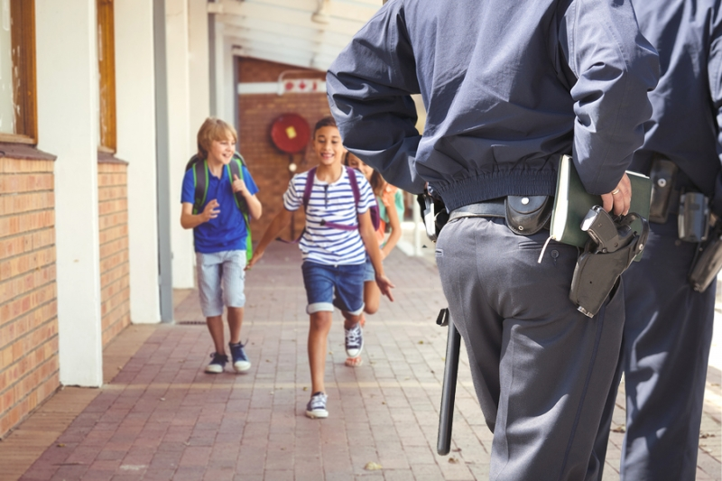 security guards in school