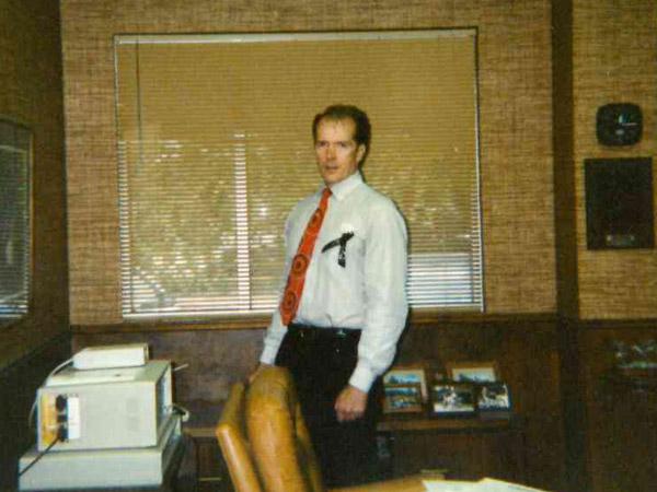 """El Dorado Insurance Agency in the beginning - founder Robert L. """"Bob"""" Ring, Jr"""