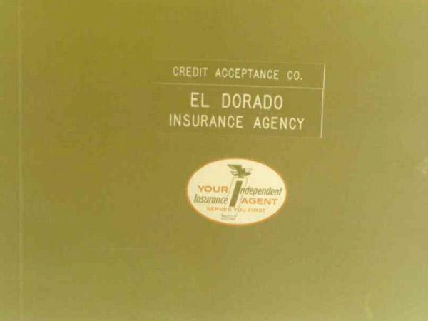 El Dorado Insurance Agency in the beginning