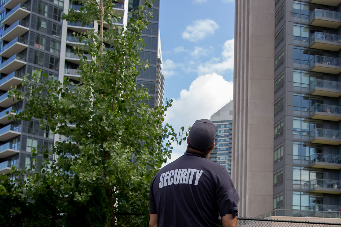 Security Guard in Apartments & Multi-family Complexes